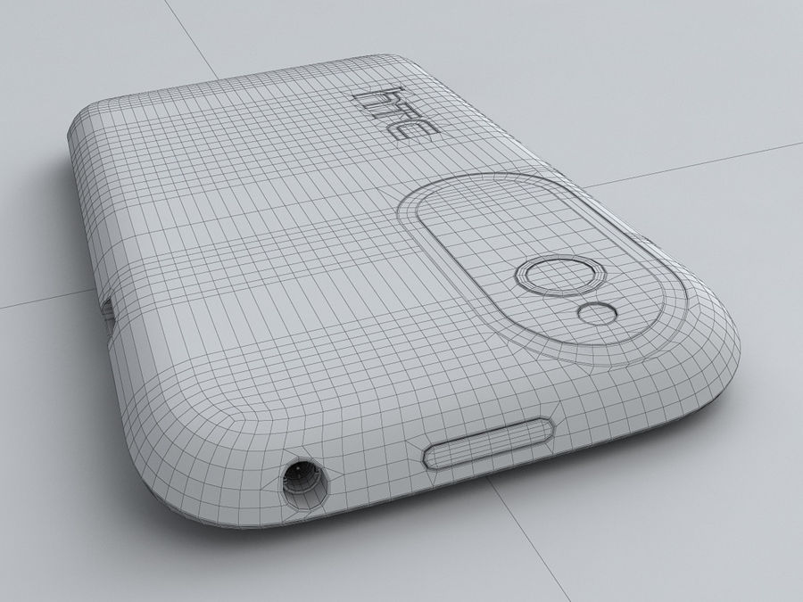 HTC Desire V royalty-free 3d model - Preview no. 26
