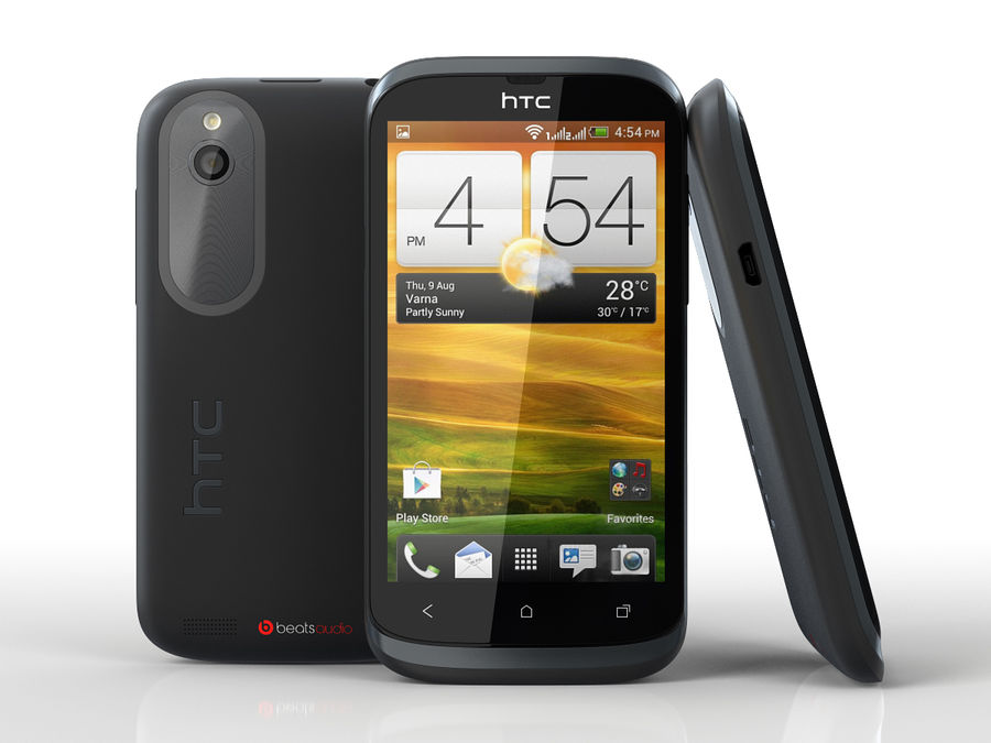 HTC Desire V royalty-free 3d model - Preview no. 1