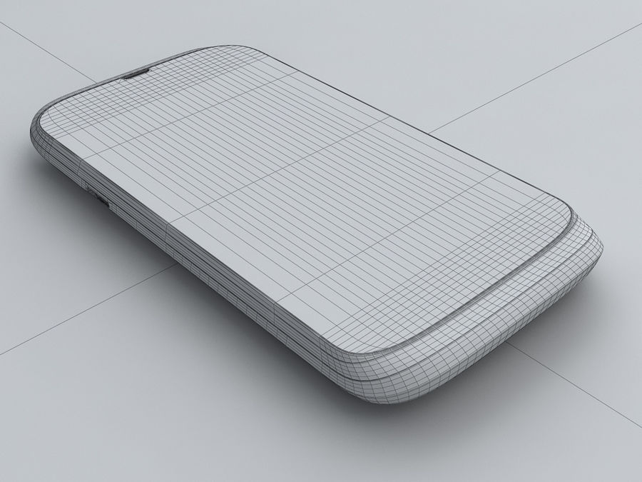 HTC Desire V royalty-free 3d model - Preview no. 23