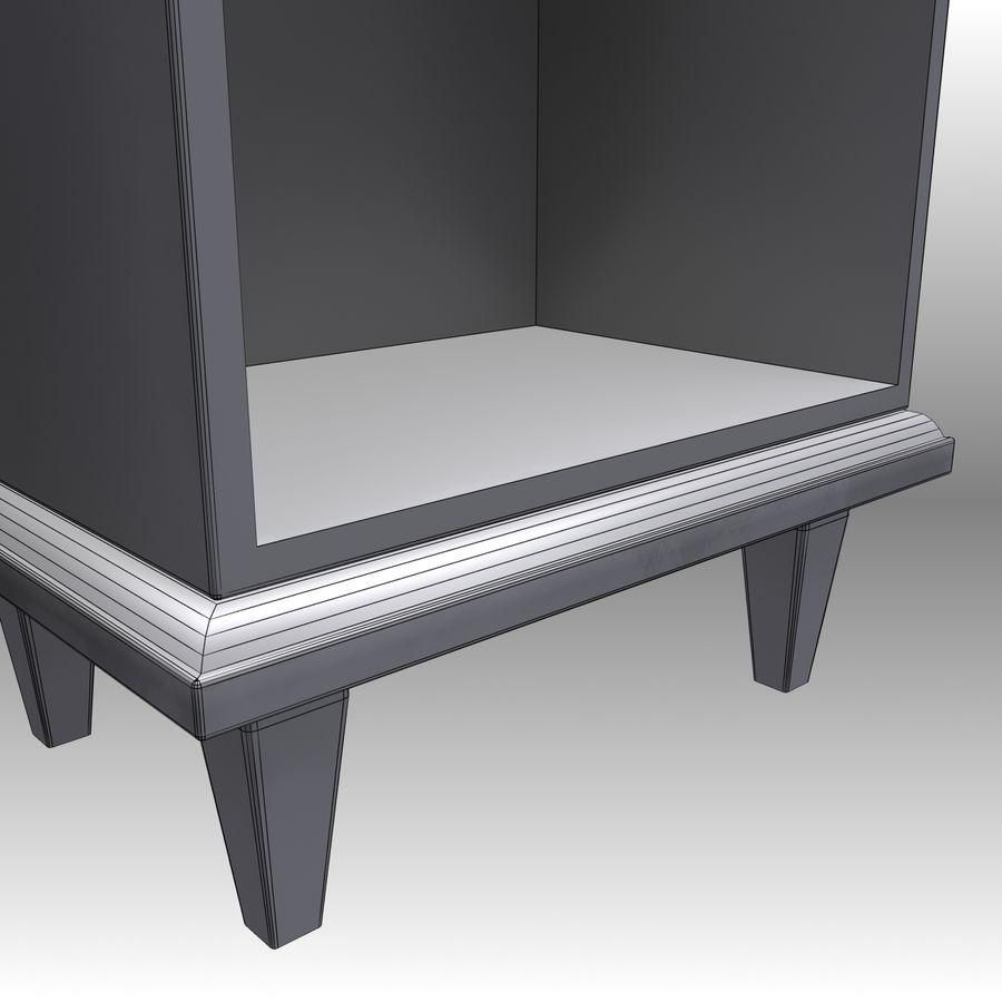 Bedroom Furniture Set royalty-free 3d model - Preview no. 21