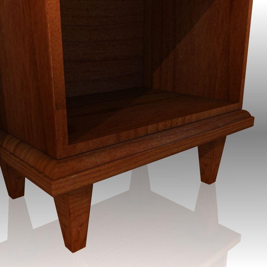 Bedroom Furniture Set royalty-free 3d model - Preview no. 12