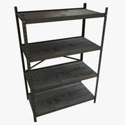 Shelves 01 3d model