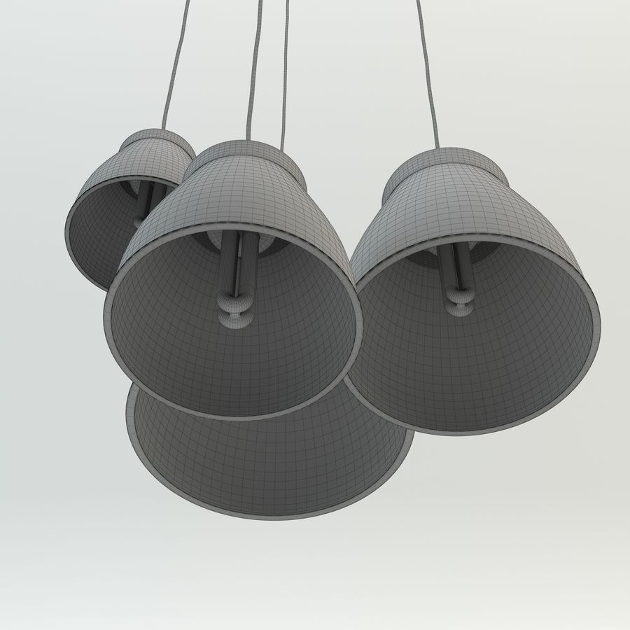 Les lampes royalty-free 3d model - Preview no. 4