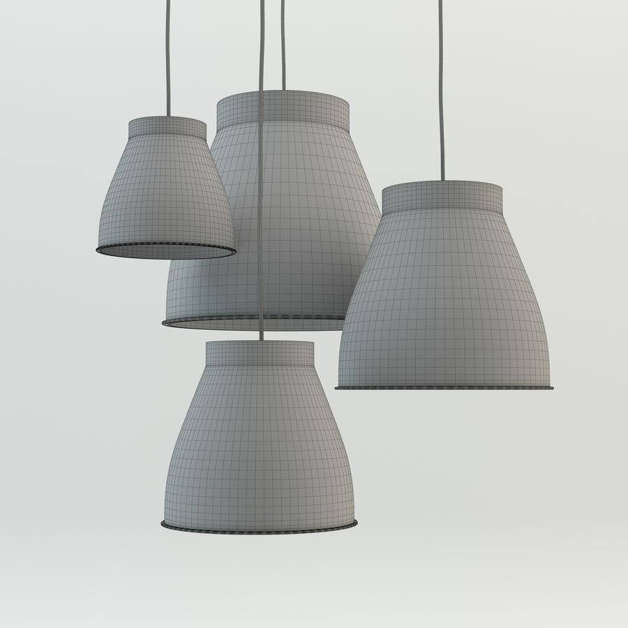 Les lampes royalty-free 3d model - Preview no. 3