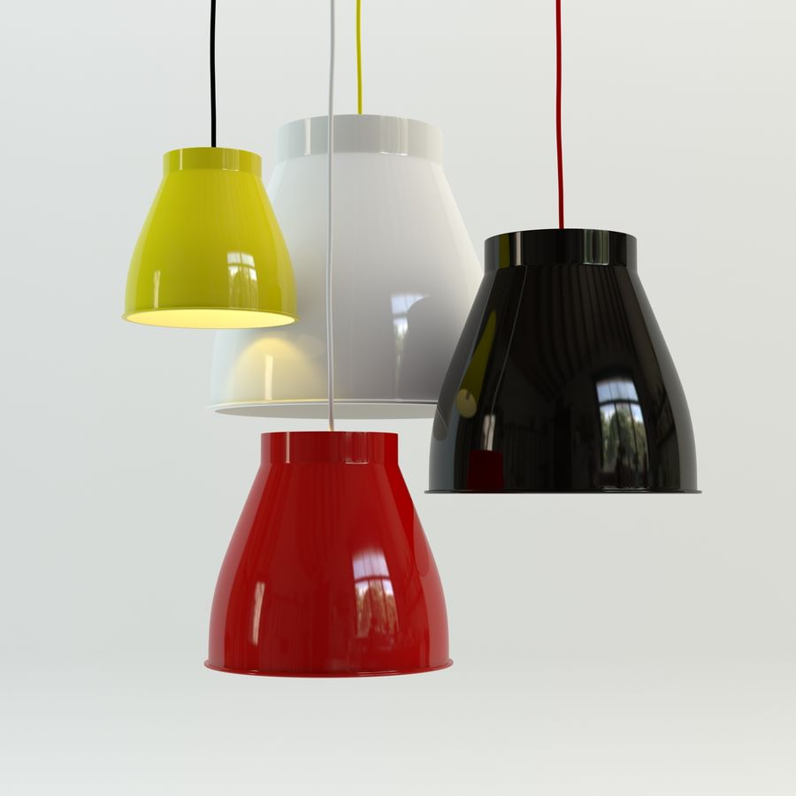 Les lampes royalty-free 3d model - Preview no. 1