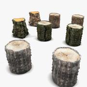 Stump Collection 3d model