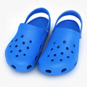 Crocs Shoes, Sandals, & Clogs in Blue 3d model