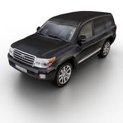 Toyota Land Cruiser 2013 3d model