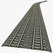 컨스트럭터 철도 3d model