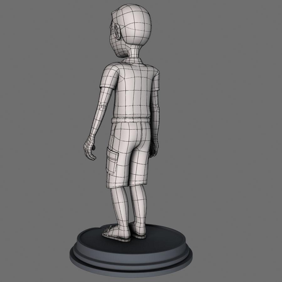 Personaggio maschile royalty-free 3d model - Preview no. 10
