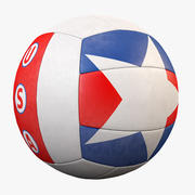 Volleyball USA Star 3d model