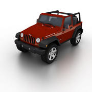 Jeep Wrangler Rubicon 2006 3d model