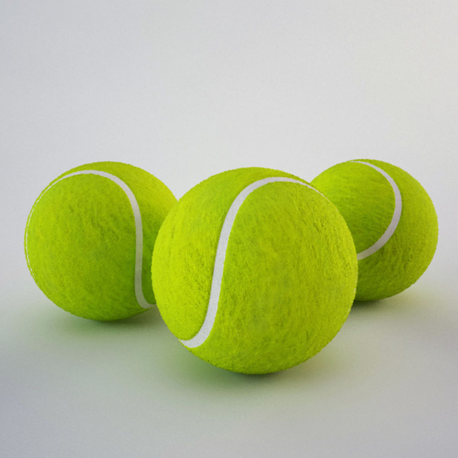 Tennis Ball royalty-free 3d model - Preview no. 1