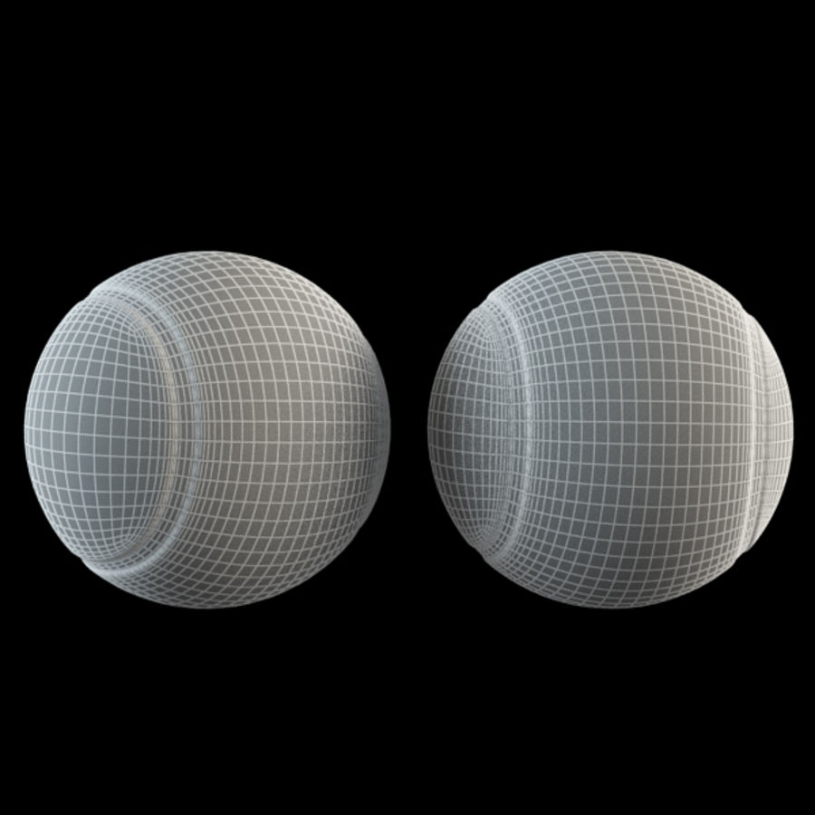 Tennis Ball royalty-free 3d model - Preview no. 6