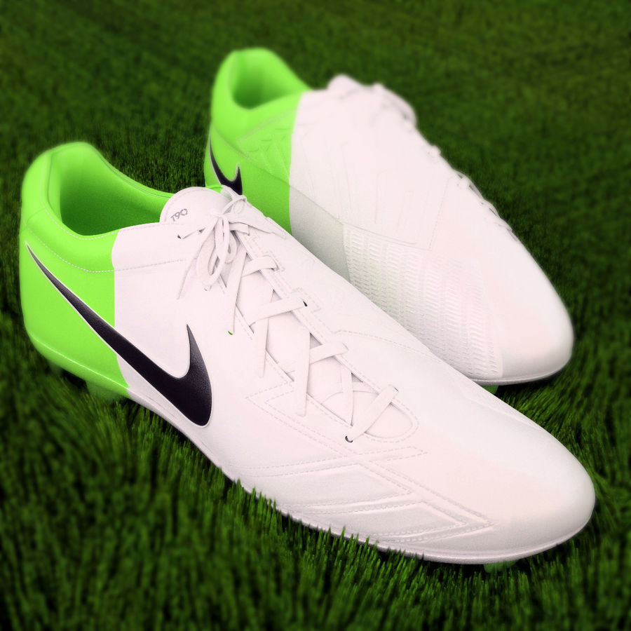 Nike T90 royalty-free 3d model - Preview no. 1