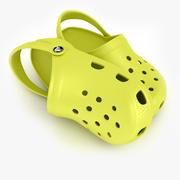Crocs Shoes, Sandals, & Clogs in Lime color 3d model