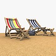 Beach Chair 3d model