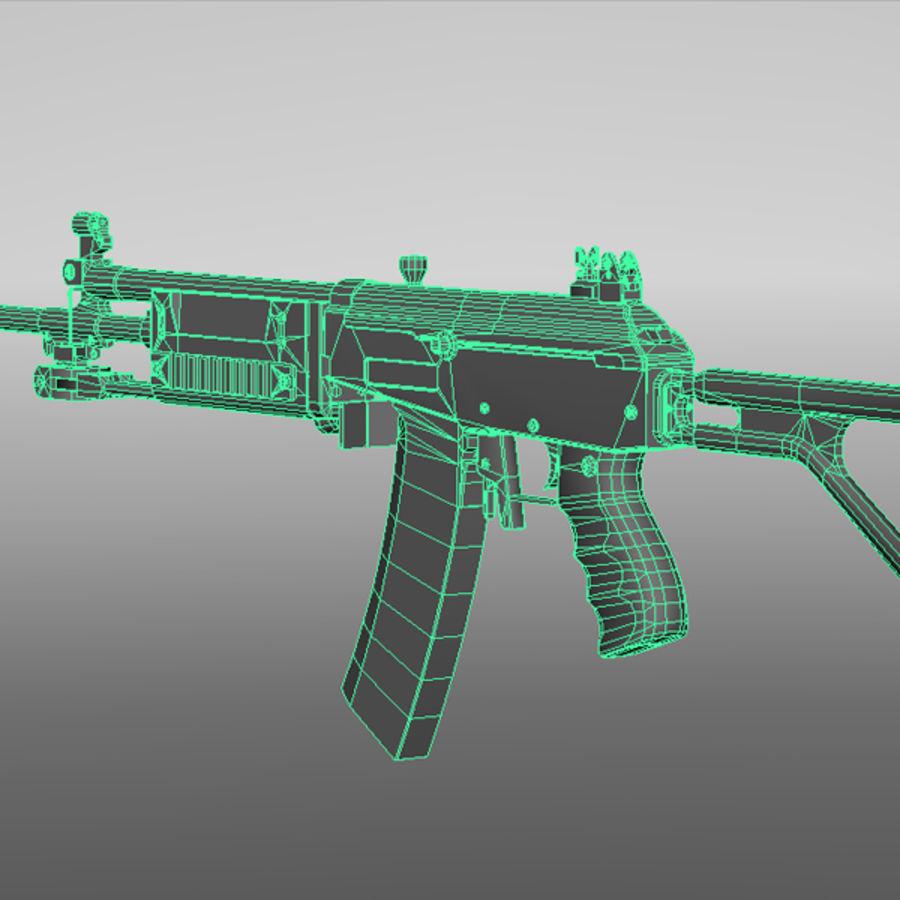 Штурмовая винтовка Галиля royalty-free 3d model - Preview no. 10