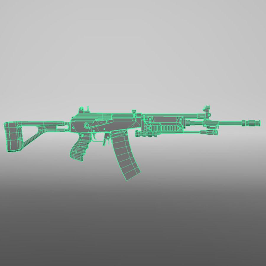 Штурмовая винтовка Галиля royalty-free 3d model - Preview no. 8