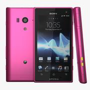 Sony Xperia Acro S Pink 3d model