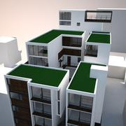 Condominio de lujo MAX 2011 modelo 3d