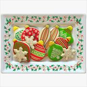 Christmas Ornament Cookies 3d model
