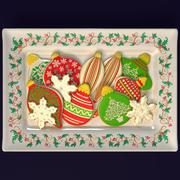 圣诞节装饰品曲奇饼 3d model