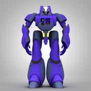 Mecha del lavoro fantasma 3d model