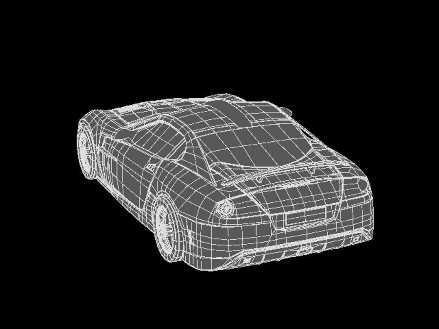 прототип автомобиля royalty-free 3d model - Preview no. 12