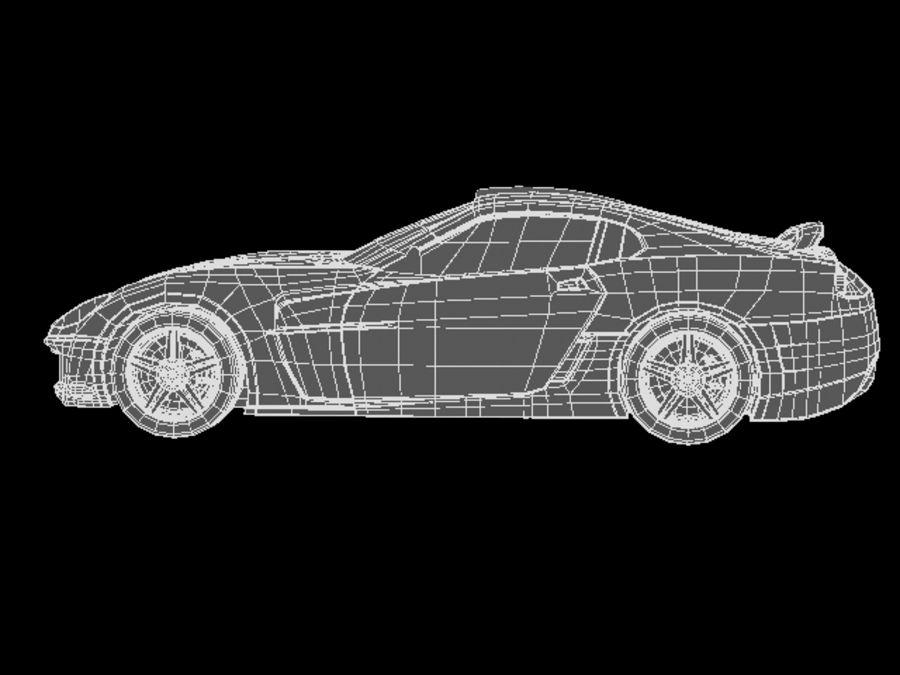 прототип автомобиля royalty-free 3d model - Preview no. 11