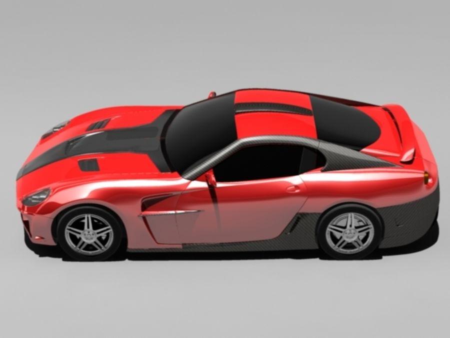 прототип автомобиля royalty-free 3d model - Preview no. 6