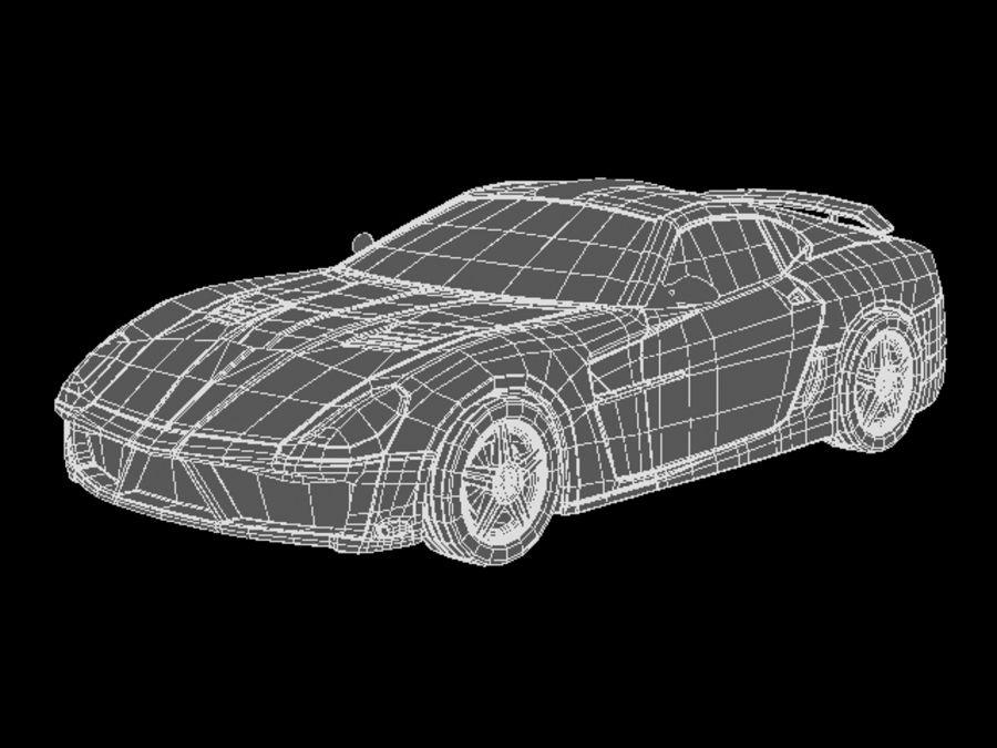 прототип автомобиля royalty-free 3d model - Preview no. 10