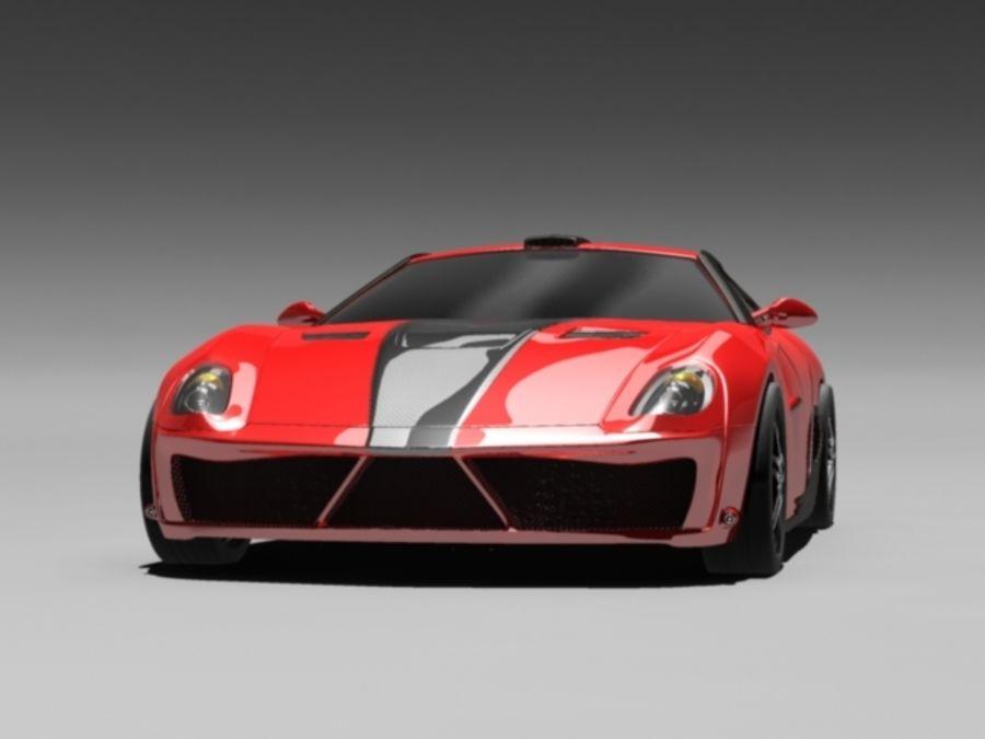 прототип автомобиля royalty-free 3d model - Preview no. 4