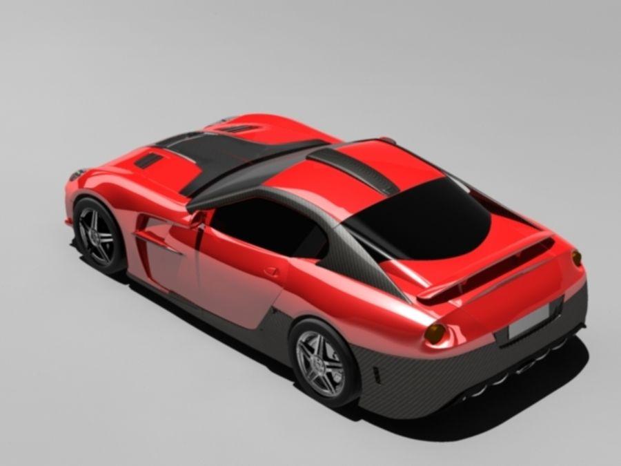 прототип автомобиля royalty-free 3d model - Preview no. 7