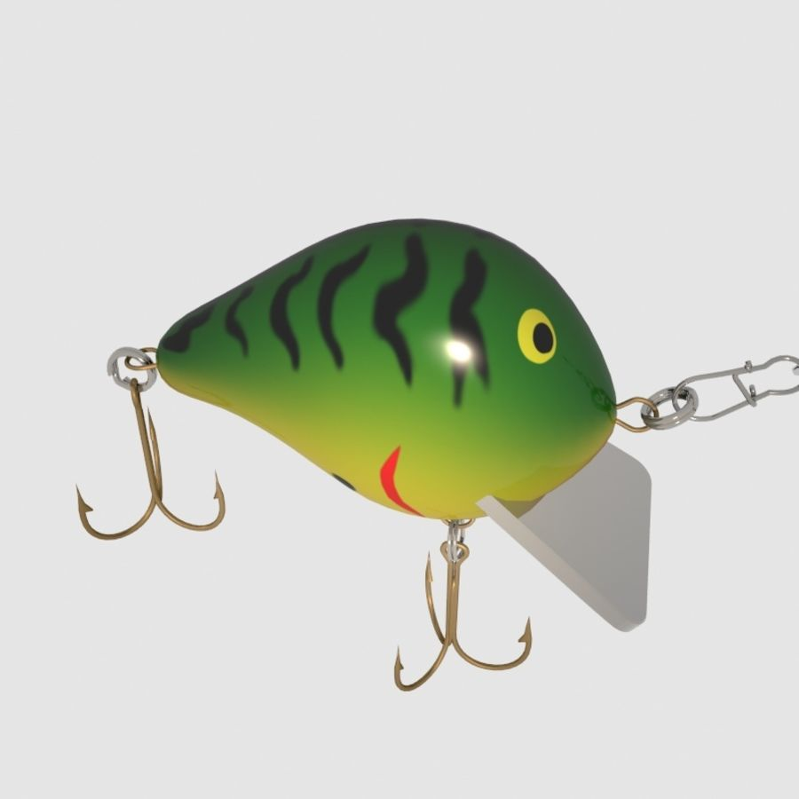 Bagley_Balsa B Lure royalty-free 3d model - Preview no. 5