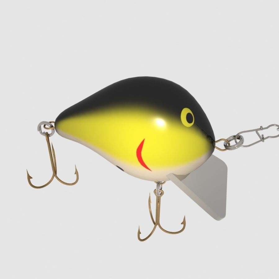 Bagley_Balsa B Lure royalty-free 3d model - Preview no. 7