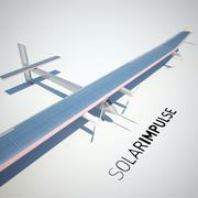 ソーラーインパルス 3d model