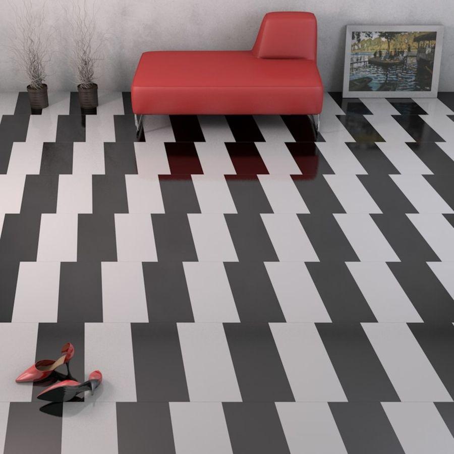 Floor tiles royalty-free 3d model - Preview no. 6