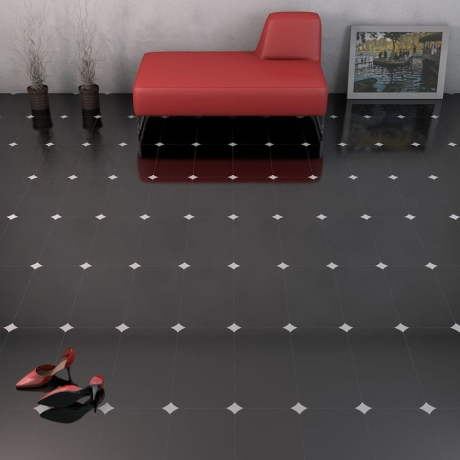 Floor tiles royalty-free 3d model - Preview no. 16