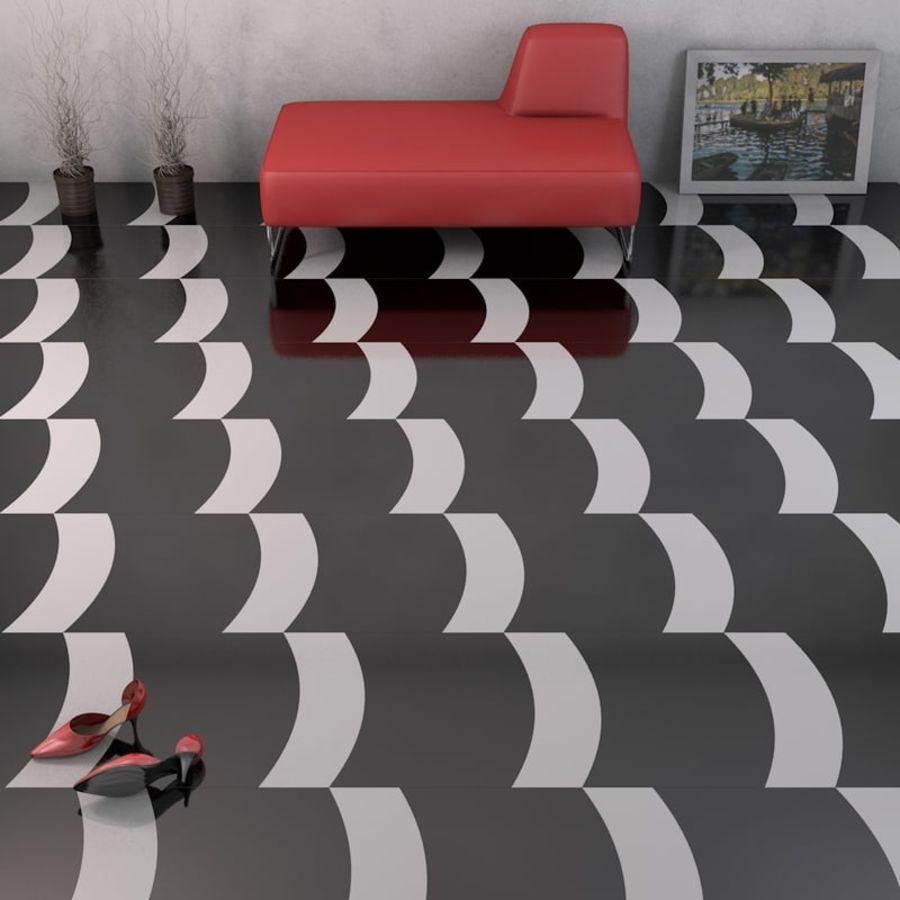 Floor tiles royalty-free 3d model - Preview no. 4