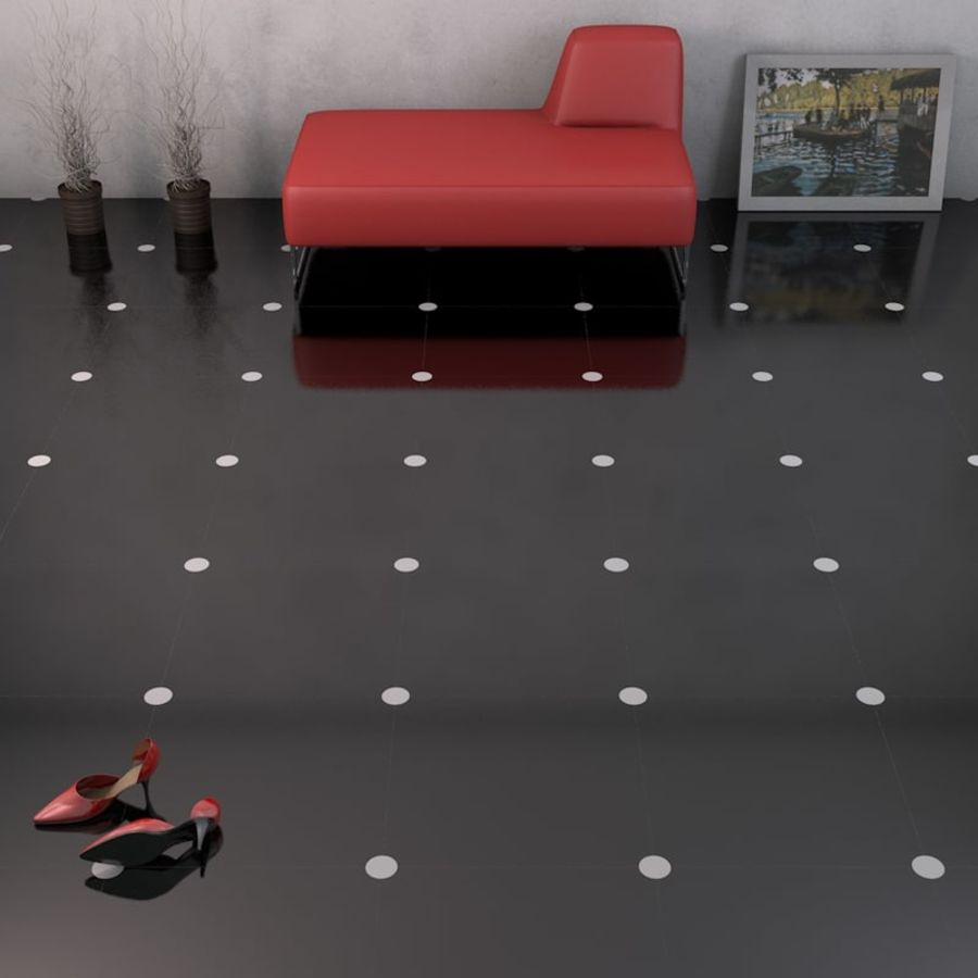 Floor tiles royalty-free 3d model - Preview no. 12