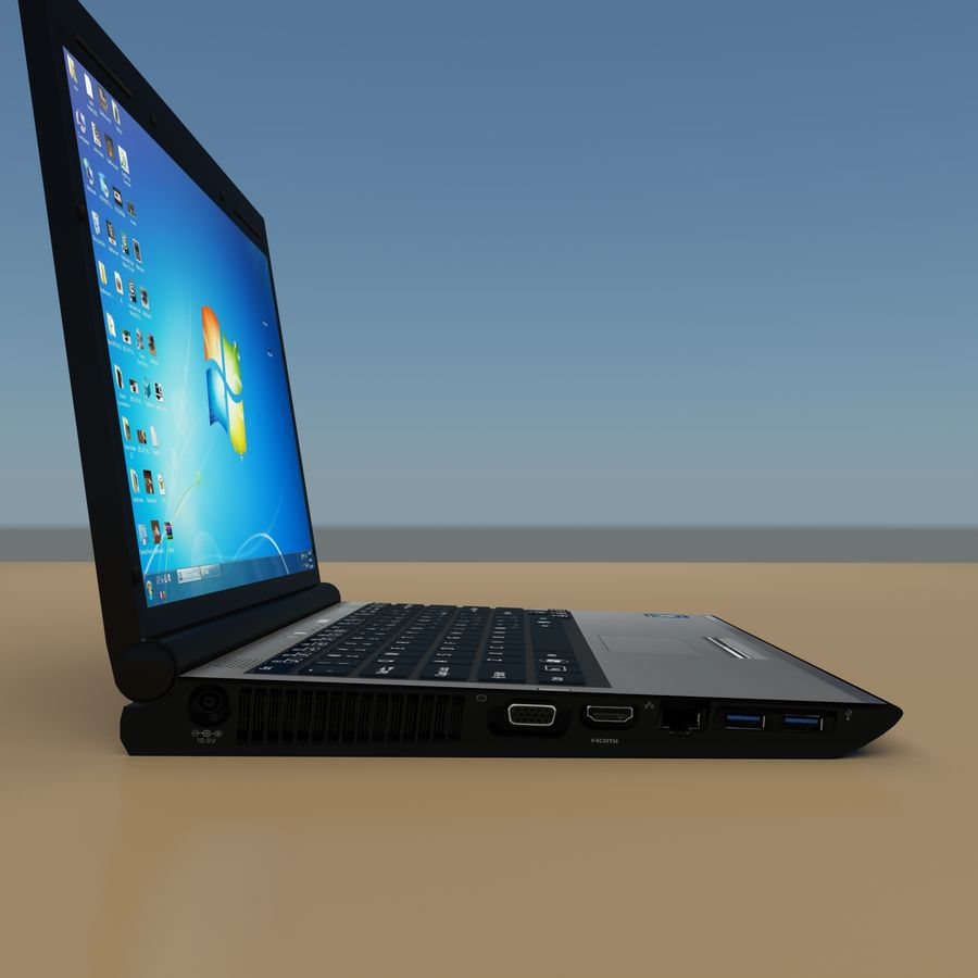 Laptop royalty-free 3d model - Preview no. 5