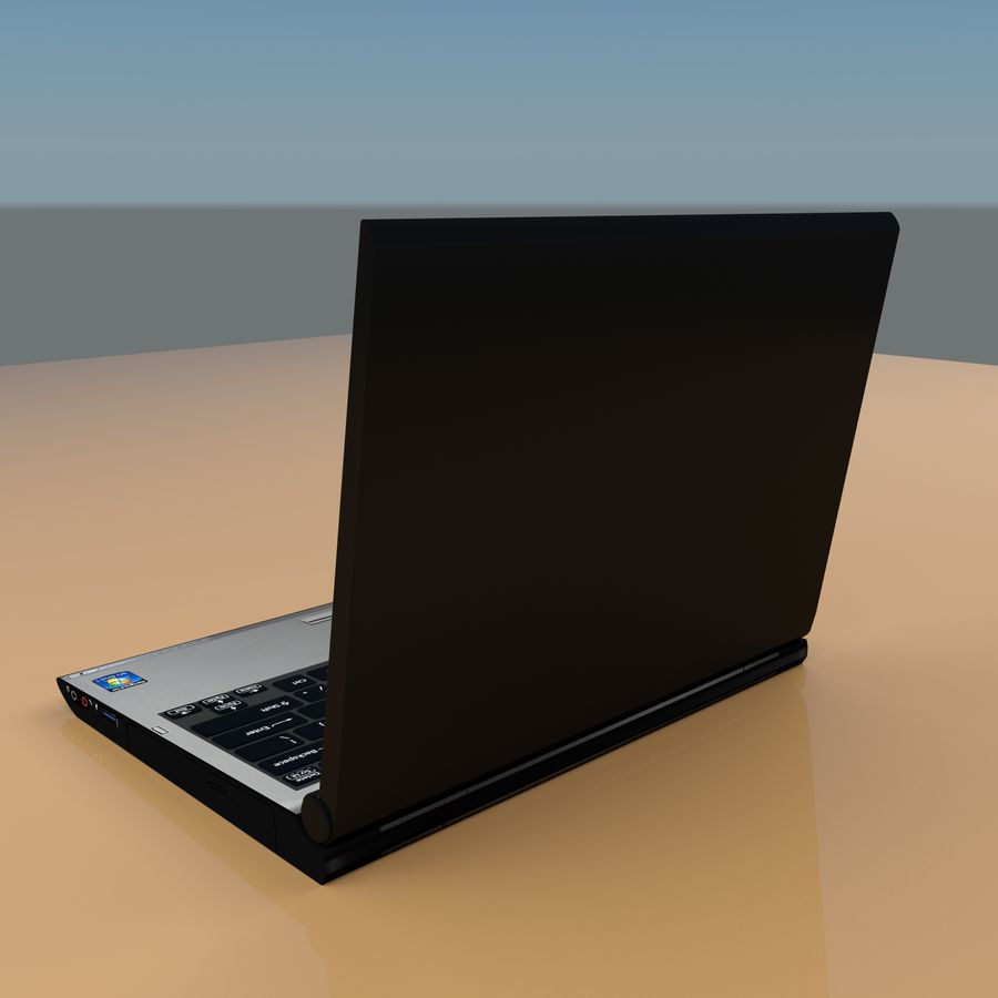 Laptop royalty-free 3d model - Preview no. 7