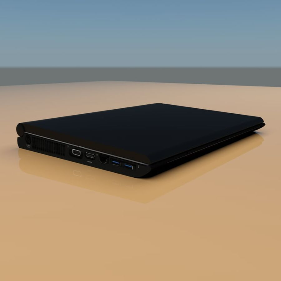 Laptop royalty-free 3d model - Preview no. 8