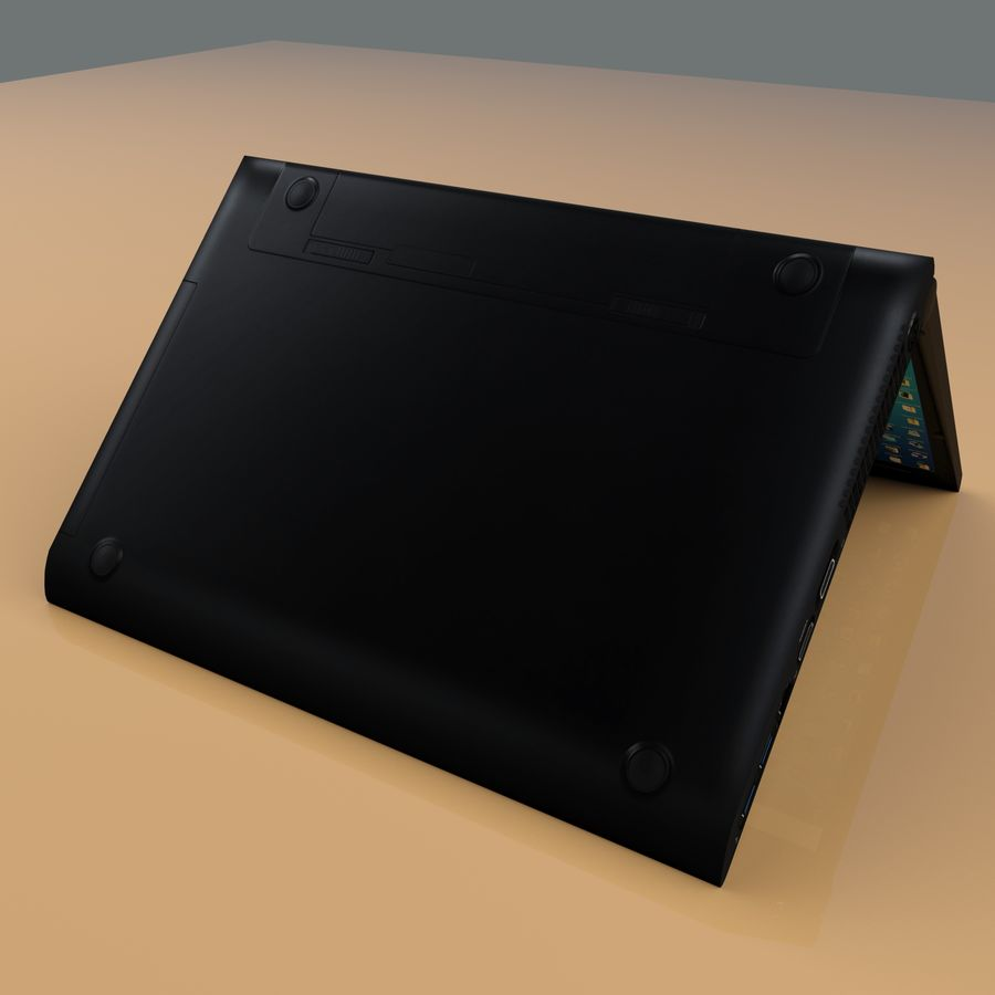 Laptop royalty-free 3d model - Preview no. 9