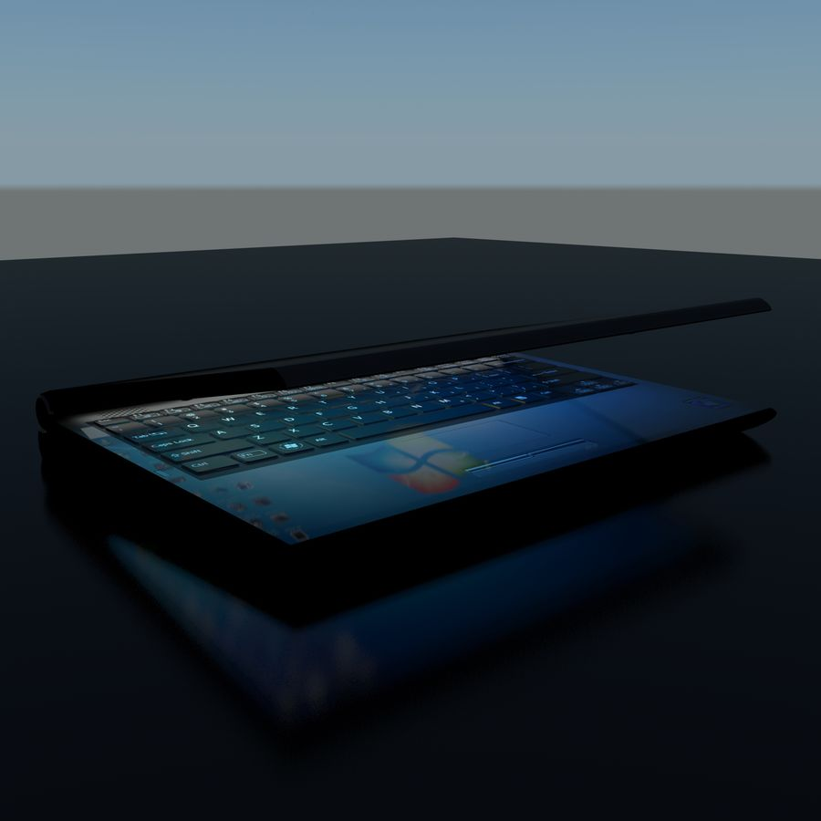 Laptop royalty-free 3d model - Preview no. 11