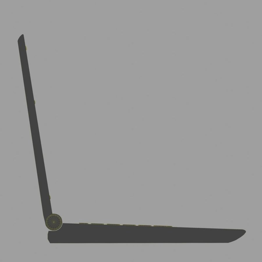 Laptop royalty-free 3d model - Preview no. 17