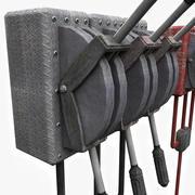 Metal Levers 3d model