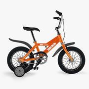 Детский велосипед 3d model