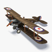 Bristol F2 Low Poly 3d model